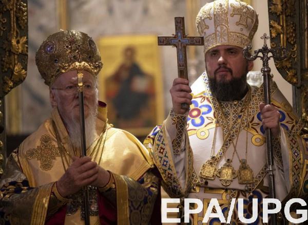 В канун Рождества Украина получила Томос об автокефалии