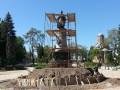 В Чернигове памятник Хмельницкому развернут спиной к Москве