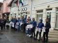 На Закарпатье пикетировали консульство Венгрии