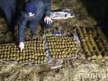 В Хмельницкой области нашли три мешка с гранатами