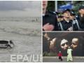 День в фото: присяга курсантов, шторм в Испании и магистр Йода в Лондоне