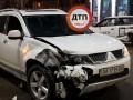 Момент ДТП с такси в Киеве засняли на видео