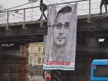 В Москве появился баннер в поддержку Олега Сенцова