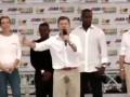 Президент Колумбии обмочился во время предвыборной речи