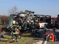 В Германии столкнулись два школьных автобуса: 19 пострадавших