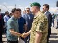 Зеленский впервые посетил админграницу с Крымом