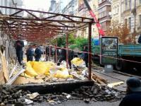 В центре Киева разгромили летнюю площадку паба ProRock