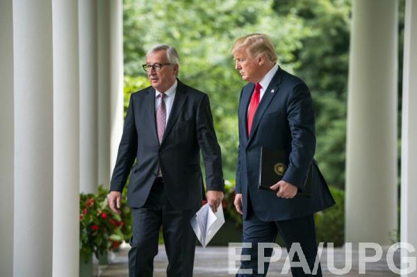 Трамп и Юнкер пришли к соглашению на фоне всеобщего страха перед перспективой торговой войны