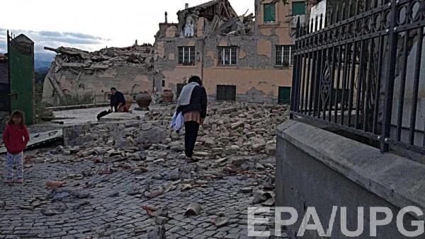 Мэр  города Аматриче сообщил об ужасных разрушениях