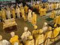 Около 1,5 тыс прихожан пришли в Лавру на божественную литургию по случаю Крещения Руси