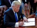 Трамп подписал оборонный бюджет с $350 миллионами Украине