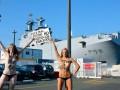 FEMEN устроили во Франции акцию возле Мистраля