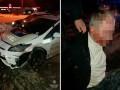 В Харькове пьяный на ВАЗе врезался в авто патрульных