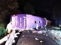 В Мексике перевернулся автобус: 13 погибших, десятки пострадавших
