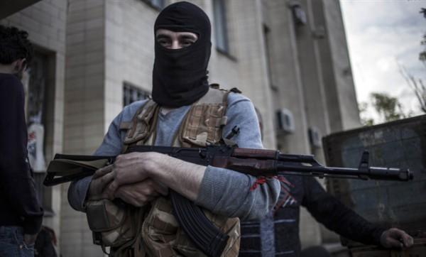 Штаб АТО: Боевики ведут обстрел изРСЗО внаправлении Горловки