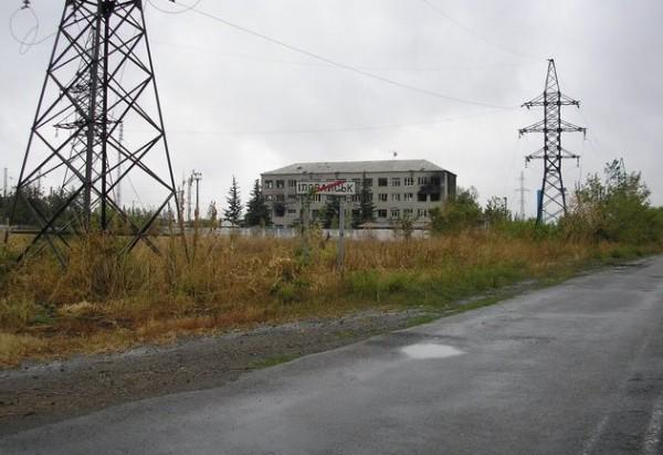 В Иловайске на каждой  улице упал снаряд