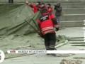 Спасатели установили на Майдане Незалежности палатку для обогрева