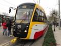 В Одессе вывели на маршрут самый длинный трамвай в Украине