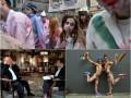Неделя в фото: Интервью Януковича, гей-парад и Марш зомби