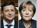 Меркель и Зеленский обсудили ситуацию на Донбассе по телефону