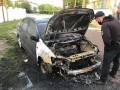 В Измаиле подожгли автомобиль активиста