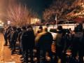 В Киеве неизвестные разгромили ряд киосков