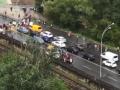 В Киеве обманутые дольщики заблокировали мост Метро