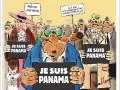 Charlie Hebdo вышел с карикатурами на панамские оффшоры