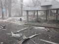 В Донецке снаряд попал в остановку, есть жертвы среди гражданских