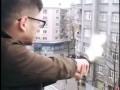В Харькове мажор-студент устроил стрельбу из окна средь бела дня