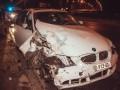 На Подоле пьяный эквадорец на BMW перевернул трактор