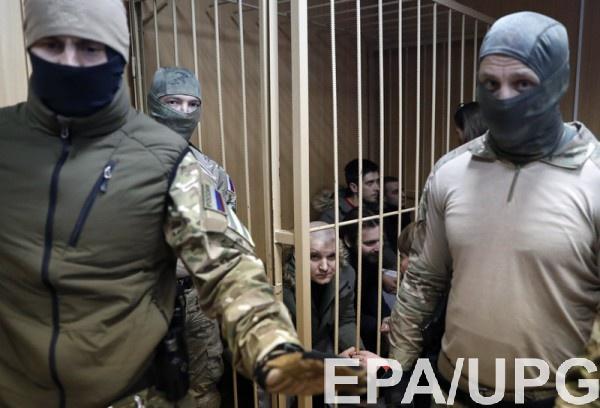 ФСБ хочет проверить психику 14 украинским морякам