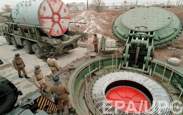 Стартовая площадка для ракет в России (архивное фото)