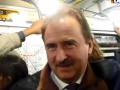 Попов едет на работу общественным транспортом (ФОТО, ВИДЕО)