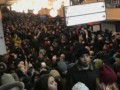 В метро Киева в утренний час пик не работала красная ветка