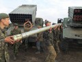 Оккупанты снова применяют реактивную артиллерию, потерь нет