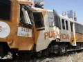 В Коста-Рике столкнулись поезда: видео с места аварии