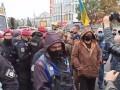 Под судом, который оставил Антоненко под стражей, стычки с полицией