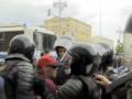 В Москве на митинге задержали сторонника Путина
