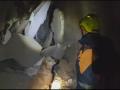 ГСЧС показала, как разбирают завалы рухнувшего дома в Киеве