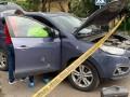 В Ужгороде обстреляли автомобиль чиновника Нацполиции