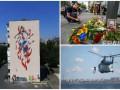 День в фото: митинг памяти Шеремета, Sea Breeze 2016 и новый мурал в Киеве