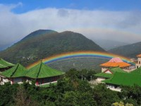 На Тайване радуга стояла девять часов