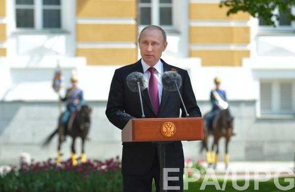 Путин стад меньше упоминать имя Порошенко