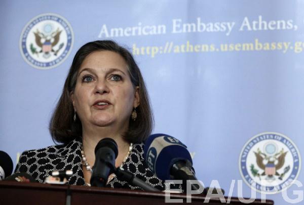 Нуланд встретилась с украинской делегацией 22 июня