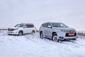 Проверка в поле: Mitsubishi Pajero Sport против Toyota Land Cruiser