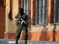 В Краматорске с вертолета разбросали инструкции для мирных жителей