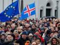 В Исландии протестуют против отказа от интеграции в ЕС