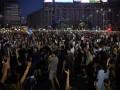 Антиправительственные протесты в Румынии набирают обороты