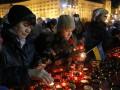 Как в Киеве отмечали годовщину Евромайдана: видео квадрокоптера